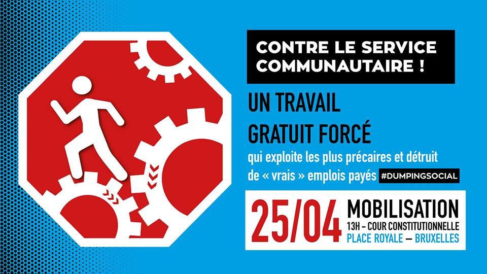 Video de l'action contre le service communautaire